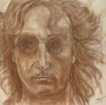 John Lennon Print by Laura Corebello