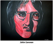 Rolling Stones Art - John Lennon  by Mark Moore
