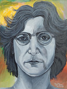 George Harrison Paintings - John Lennon by To-Tam Gerwe