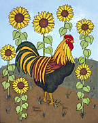 Folk Art Prints - John Print by Medana Gabbard