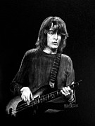 Led Zeppelin Prints - John Paul Jones Print by William Walts