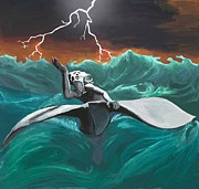 Jonah Metal Prints - Jonahs Cross Metal Print by Rick Koestler