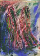 Judas And Pilate Print by Tod Estes