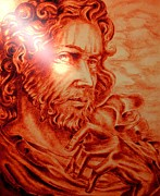 Religious Art Drawings - Judas Iscariot by Gary Renegar