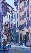 Old Street Paintings - July in Florence by Jenny Armitage
