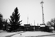 Sask Prints - Kamsack town office Saskatchewan Canada Print by Joe Fox