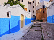 Rabat Prints - Kasbah of the Udayas in Rabat Print by Karol Kozlowski