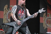 Heavy Metal Music Posters - Kerry King from Slayer Poster by Jenny Potter
