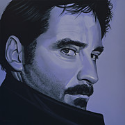 Work Of Art Posters - Kevin Kline Poster by Paul Meijering