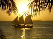 Joan  Minchak - Key West Sunset