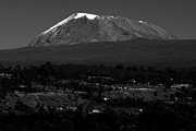 Snow-capped Peak Prints - Kilimanjaro Print by Aidan Moran
