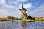 Dutch Framed Prints - Kinderdijk Framed Print by Joana Kruse