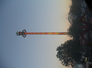 Tower Photo Prints - Kings Dominion - Drop Tower - 12121 Print by DC Photographer