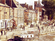 John Adams Prints - Kings Staith York Print by John Adams
