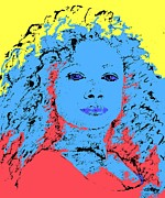 Actress Mixed Media Prints - Kingston Print by Patrick J Murphy
