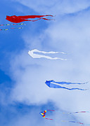 Lake Mendota Prints - Kites on Ice Print by Steven Ralser