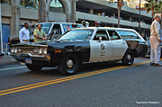 Police Cruiser Art - 1-l-20 by Tommy Anderson