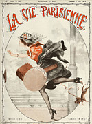 Featured Art - La Vie Parisienne  1919 1910s France by The Advertising Archives