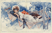 Featured Prints - La Vie Parisienne 1920s France Maurice Print by The Advertising Archives