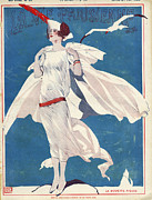 Featured Art - La Vie Parisienne  1922 1920s France by The Advertising Archives