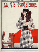 Covers Drawings Prints - La Vie Parisienne  1924 1920s France Print by The Advertising Archives