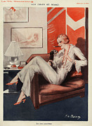 Clothes Clothing Art - La Vie Parisienne 1931 1930s France Cc by The Advertising Archives