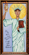 Liberty Paintings - Lady Magdalene by Ellen Sauer