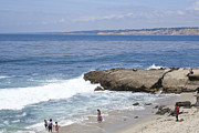 Lajolla Metal Prints - Lajolla Shores 6 Metal Print by Carol Landry