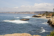 Lajolla Metal Prints - Lajolla Shores 7 Metal Print by Carol Landry