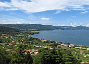 Campaign Photos - Lake Bracciano panoramic view by Kiril Stanchev