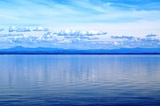 Port Kent Prints - Lake Champlain 9 Print by Sarah Holenstein