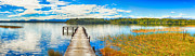 Jetty View Park Prints - Lake Mahinapua Print by MotHaiBaPhoto Prints