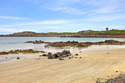 Vale Metal Prints - LAncresse Bay - Guernsey Metal Print by Joana Kruse