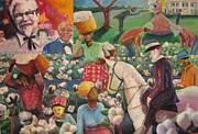Land O' Cotton Print by Michael Owens