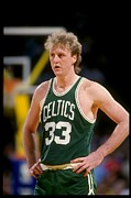 Nba Art - Larry Bird Poster by Sanely Great