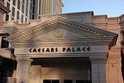 Roman Photo Prints - Las Vegas - Caesars Palace - 12125 Print by DC Photographer