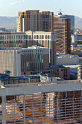 Gambling Originals - Las Vegas Casino architecture and rooftops. by Gino Rigucci