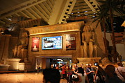 Decoration Framed Prints - Las Vegas - Luxor Casino - 12121 Framed Print by DC Photographer