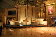Egypt Prints - Las Vegas - Luxor Casino - 12122 Print by DC Photographer