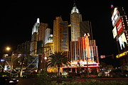 Empire Photo Framed Prints - Las Vegas - New York New York Casino - 12121 Framed Print by DC Photographer
