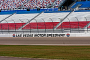 Grandstands Framed Prints - Las Vegas Speedway Grandstands Framed Print by Gunter Nezhoda