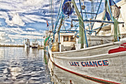 Docked Boat Framed Prints - Last Chance Framed Print by Scott Pellegrin