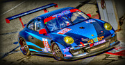 Long Beach Grand Prix Prints - LBGP Porsche Print by Craig Incardone