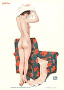Featured Art - Le Sourire 1920s France Glamour Erotica by The Advertising Archives