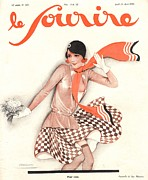 WomenÕs Art - Le Sourire 1929 1920s France Glamour by The Advertising Archives