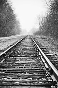 Train Tracks Photo Originals - Left Behind by Tim Hauser