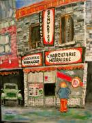 Montreal Memories. Art - Legend on the Main by Michael Litvack