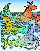 Science Source - Legendary Sea Creatures 15th Century