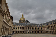 Courtyard Art - Les Invalides - Paris France - 011318 by DC Photographer