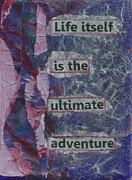 Desk Originals - Life Itself Ultimate Adventure by Gillian Pearce